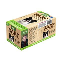 BARF Beef Frozen Dog Food 2.4KG (8 x 300g)