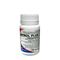 Avitrol Plus Bird Wormer Tablets x 100