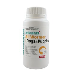 Aristopet All Wormer For Dogs & Puppies 100 Tables