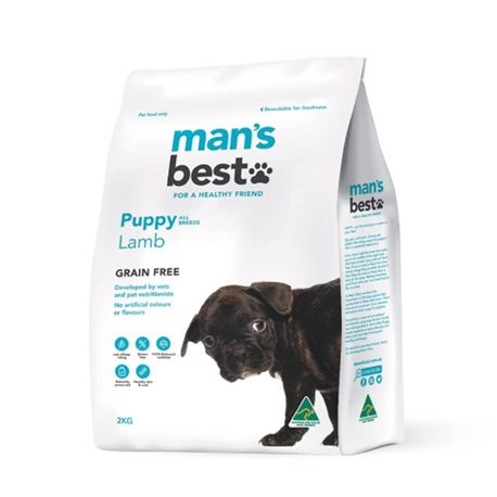 Man's Best Puppy Grain Free Lamb Dry Dog Food