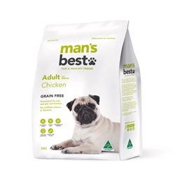 Man's Best Adult Grain Free Chicken Dry Dog Food