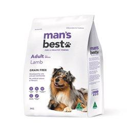 Man's Best Adult Grain Free Lamb Dry Dog Food
