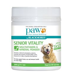 Paw Senior Vitality Chews 200g