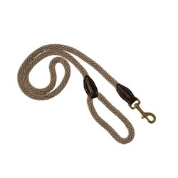 Mog & Bone Leather & Rope Dog Lead