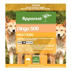 Apparent Dingo Chlorpyrifos 500 1ltrs