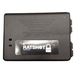 IO RatShot Bait Station Small 14 x 9 x 5cm For Mouse & Rats