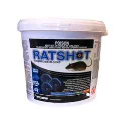 IO iO Ratshot Block 10kg BLUE Mice & Rat Poison