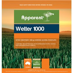 Apparent Wetter 1000 g/L NONIONIC ALCOHOL ETHOXYLATES For Use With Herbicides 1L & 5L