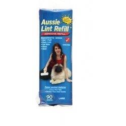 Aussie Lint Roller Refill Large Pet Hair Fur Lint Remover