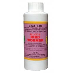 Elliott's Bird Wormer Syrup 125ml