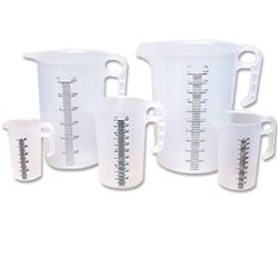 Bainbridge Measuring Jug For Chemical Use 250ml - 5L