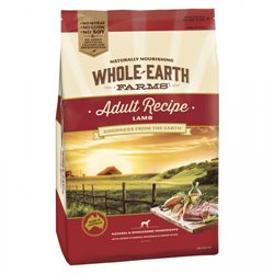 Whole Earth Farms Lamb Recipe Dry Dog Food