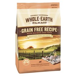 Whole Earth Farms Puppy Grain Free Salmon & Tuna Recipe Dry Dog Food