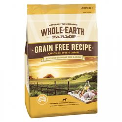Whole Earth Farms Grain Free Chicken & Lamb Recipe