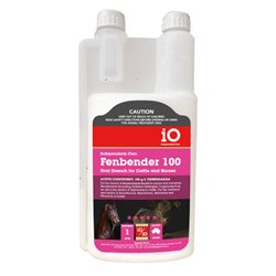 iO Fenbender 100 Oral Drench Anthelmintic For Horses & Cattle 250ml - 1L