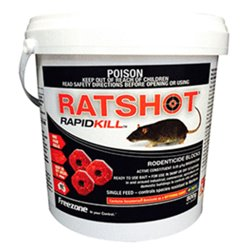 iO Ratshot Rapid Kill Block 250gm, 2kg or 8kg