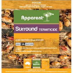 Apparent Surround (Bifenthrin 100) Termicide Poison Termite Lawn & Grub Spray 1L or 5L