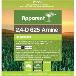 Apparent 2,4-D 625 (Amicide) Amine Herbicide 5L