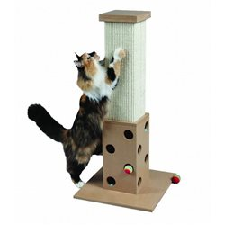 "SmartCat ULTIMATE SCRATCH ''N PLAY POST 32"" (81cm) Height"