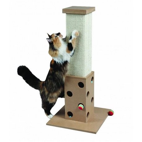 """SmartCat ULTIMATE SCRATCH ''N PLAY POST 32"""" (81cm) Height"""