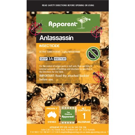 Apparent AntAssassin Ant & Tick Powder 1kg