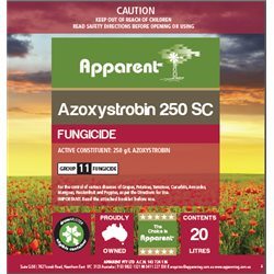 Apparent Azoxystrobin 250SC 5ltrs ( Equiv. Amistar 250)