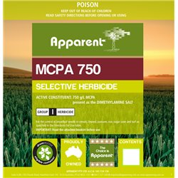 Apparent MCPA 750 5L Herbicide Broadleaf Poison