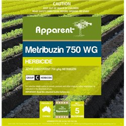 Apparent Metribuzin 750 Herbicide 5kgs