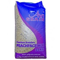 Avigrain Peachface Mix 20kg (WAREHOUSE PICK UP & SYDNEY DELIVERY ONLY)