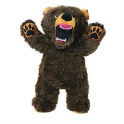 Tuffy Mighty Toy Angry Animals Bear Dog Toy