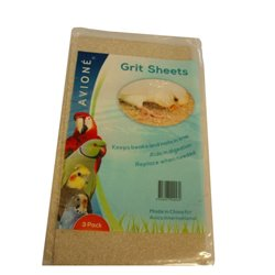 Avione Grit Sheets 3 Pack For Birds