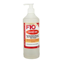 F10 Hand Gel Pump Pack 500ml