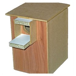 Bird Nest Box Peach Face Suited Timber Wood Design