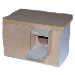 Bird Nest Box Peachface Special Wide Style
