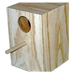 Bird Nest Box Suit Budgie Plywood Design