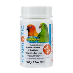 Vetafarm Synbiotic Avian Health Supplement 100g