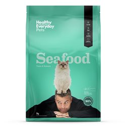 Healthy Everyday Pets Feline (Pete Evans) Seafood Dry Food 3kg