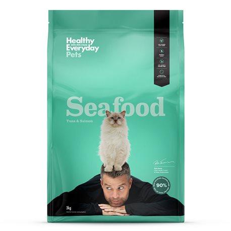 Healthy Everyday Pets Feline (Pete Evans) Seafood Dry Food 3kg