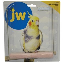 W Insight Sand Perch Bird Swing Regular (18cm H x 16cm W)