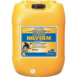Coopers Nilverm Oral Sheep & Cattle Drench Wormer 20-Litre (Levamisole)