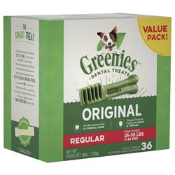 Greenies Original Dental Chews 1kg Value Pack Petite Regular Large Sizes