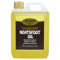 Equinade Neatsfoot Premium Light Oil Leather Protector 1L or 2.5L