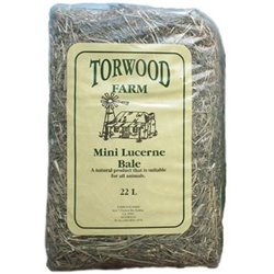 Torwood Farm Mini Lucerne Bale 22L