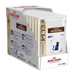 Royal Canin Feline Veterinary Diet Gastrointestinal Wet Pouches 100g x 12