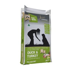 Meals For Mutts Duck & Turkey Grain Free Recipe Dry Dog Food