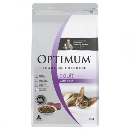 Optimum Cat Adult Tuna Dry