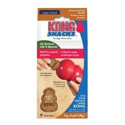 KONG Stuff'N Snacks Peanut butter Large
