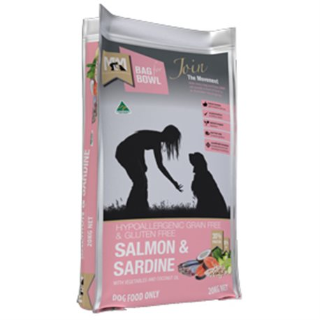Meals For Mutts Salmon & Sardine Grain Free Recipe Dry Dog Food