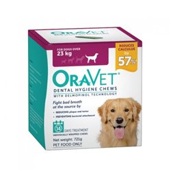 Oravet Large Dog Dental Chews 14 Pack