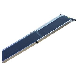 ZeeZ Deluxe Telescoping Dog Car Ramp 350mm Wide 0.9-1.8m Long